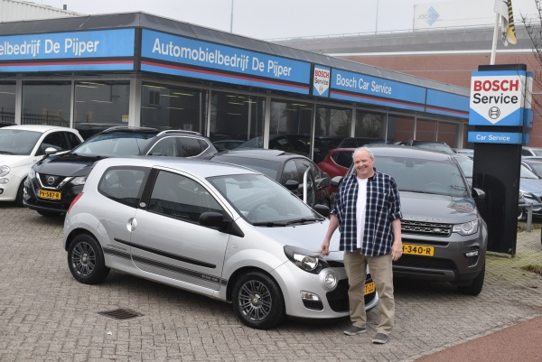 Aflevering Renault Twingo