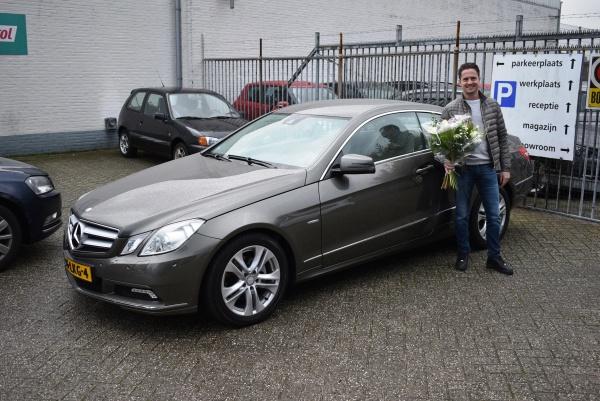 Aflevering Mercedes-Benz E250