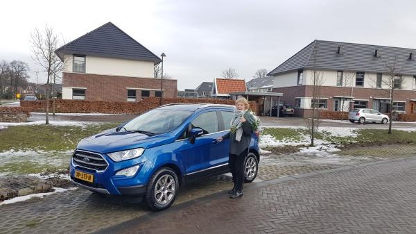 Aflevering Ford Ecosport