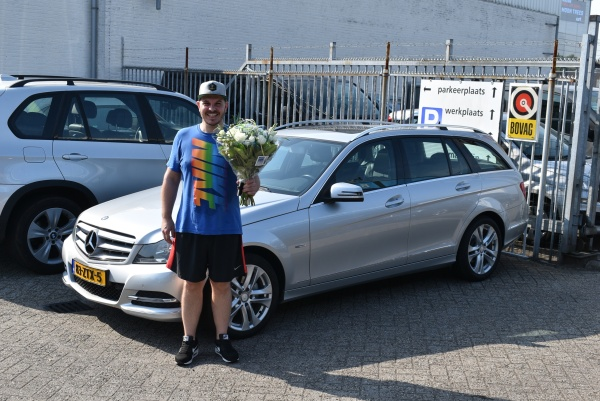 Aflevering Mercedes-Benz C180