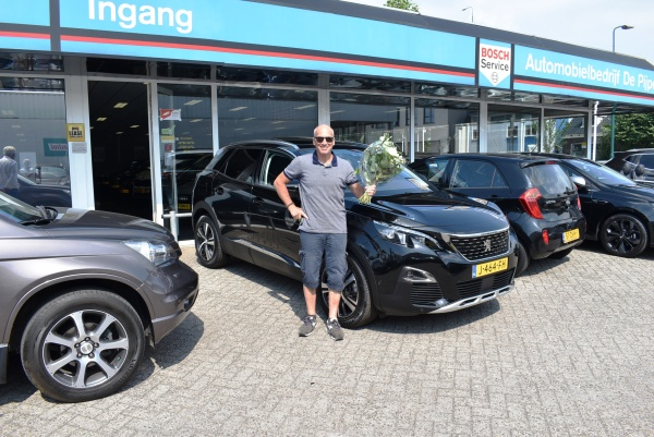Aflevering Peugeot 3008