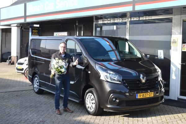Aflevering Renault Trafic
