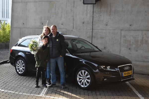 Aflevering Audi A4 Avant