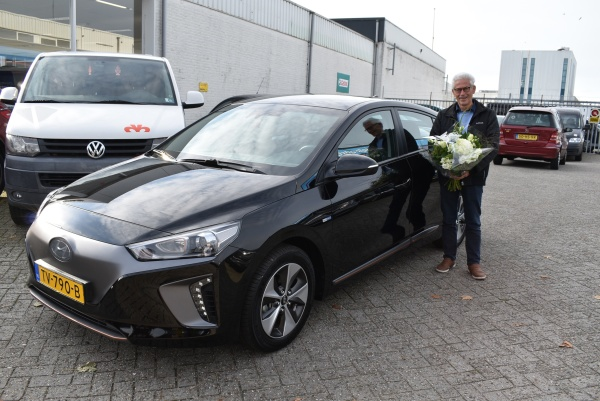 Aflevering Hyundai Ionic Electric