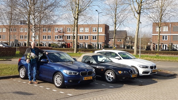 Aflevering BMW 118i automaat