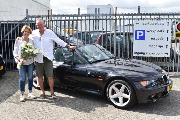 Aflevering BMW Z3