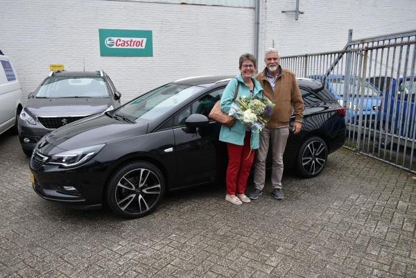 Aflevering Opel Astra Tourer