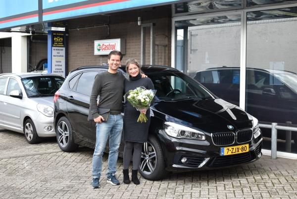 Aflevering BMW 220i