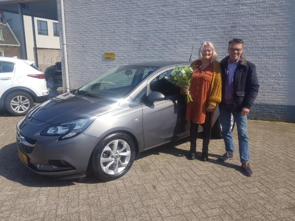 Aflevering Opel Corsa Turbo