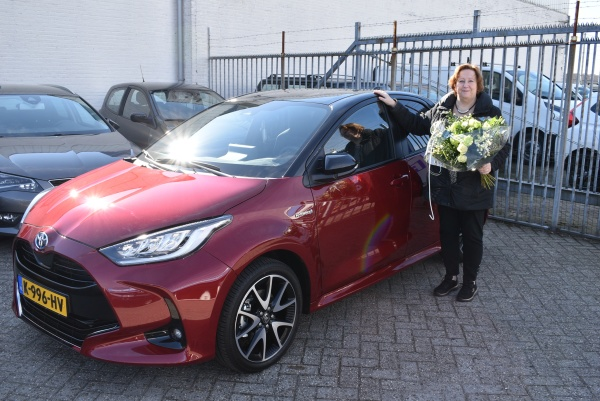 Aflevering Toyota Yaris hybride-2021-03-24 15:42:04