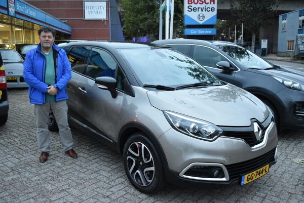 Aflevering Renault Captur