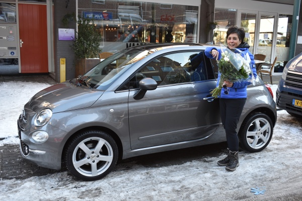 Aflevering Fiat 500