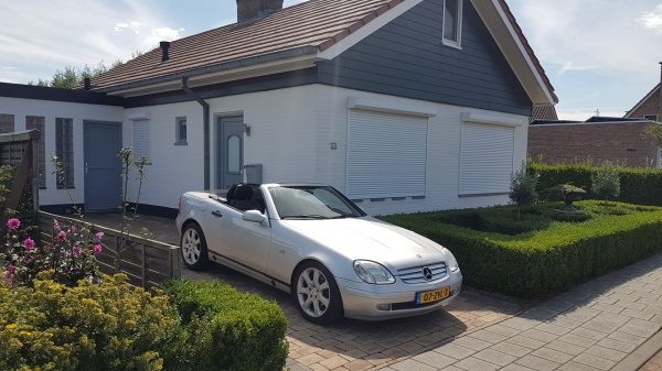 Aflevering Mercedes-Benz SLK200