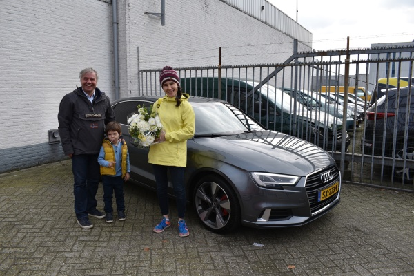 Aflevering Audi A3 Limousine