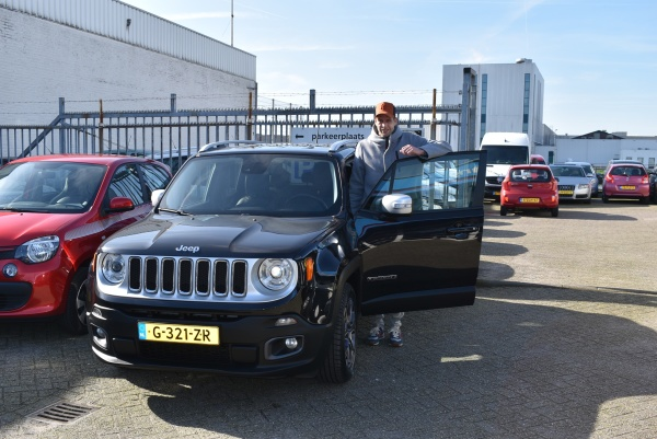 Aflevering Jeep Renegade