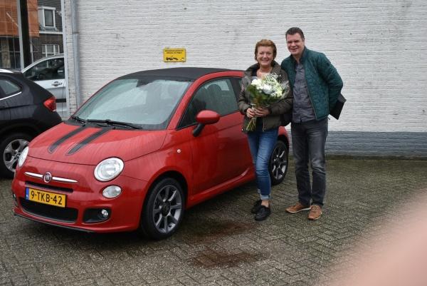 Aflevering Fiat 500 C Abarth