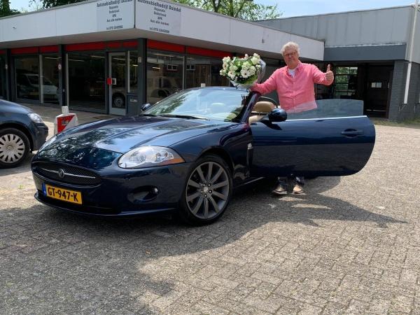 Aflevering Jaguar XK V8