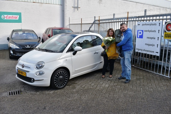 Aflevering Fiat 500 automaat