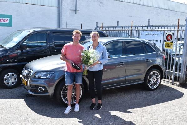 Aflevering Audi Q5