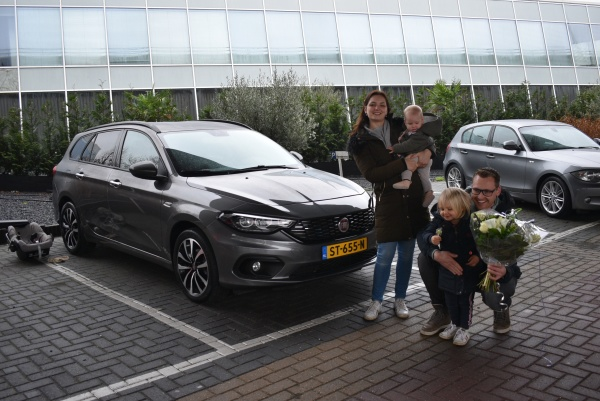 Aflevering Fiat Tipo