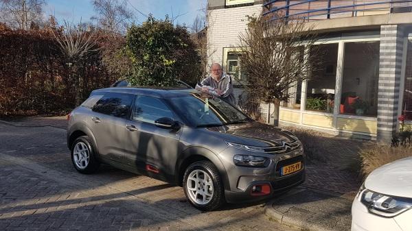Aflevering Citroën C4 Cactus
