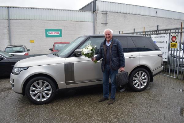 Aflevering Land Rover Range Rover Vogue