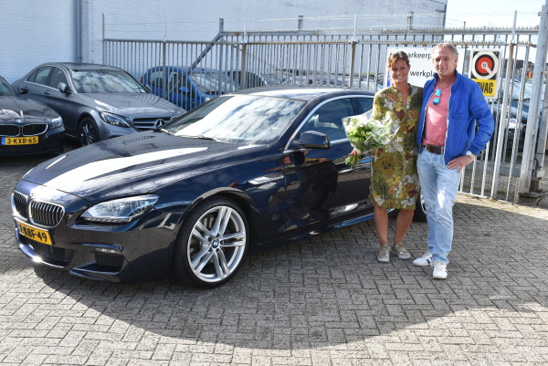 Aflevering BMW 640i Gran Coupé