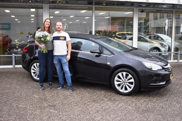 Aflevering Opel Cascada