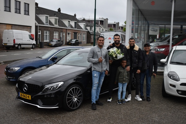Aflevering Mercedes-Benz C coupé