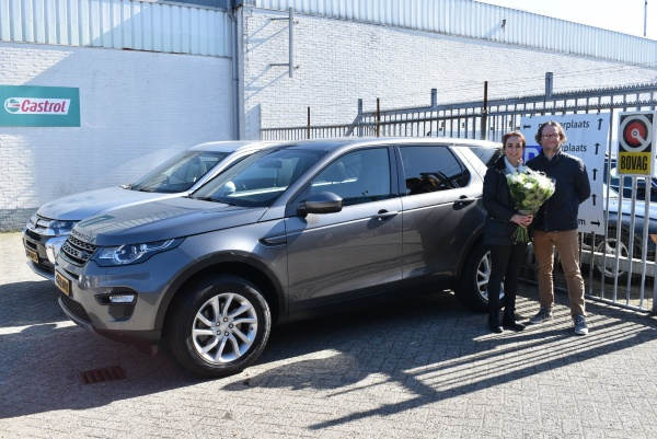Aflevering Land Rover Discovery