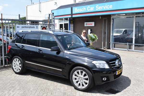 Aflevering Mercedes-Benz GLK200