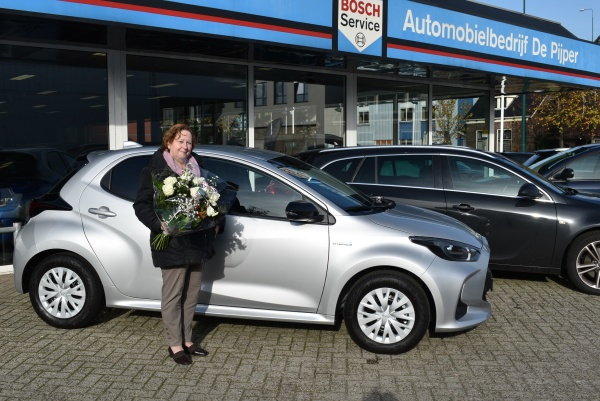 Aflevering Toyota Yaris Automaat