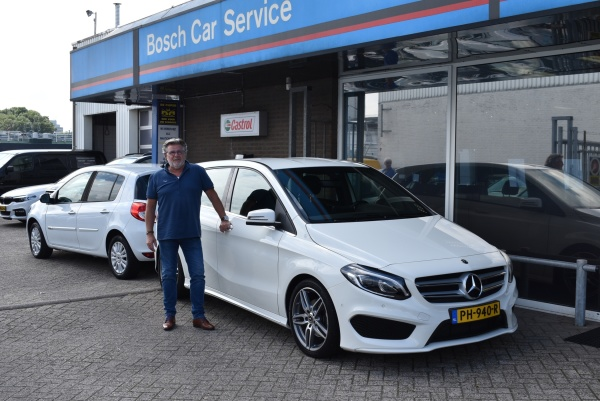 Aflevering Mercedes-Benz B180
