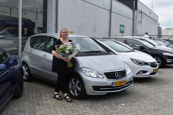 Aflevering Mercedes-Benz A klasse