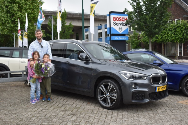 Aflevering BMW X1