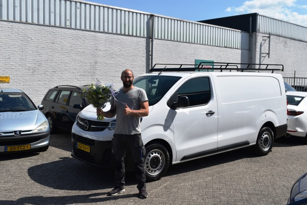 Aflevering Opel Vivaro