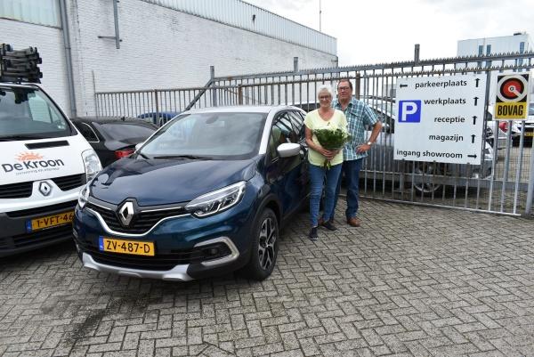 Aflevering nieuwe Renault Captur