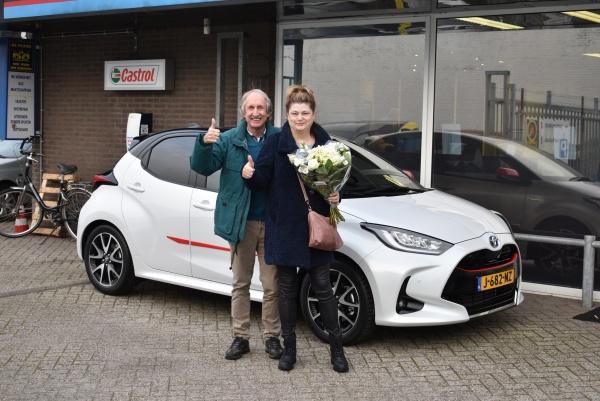 Aflevering Toyota Yaris Hybride
