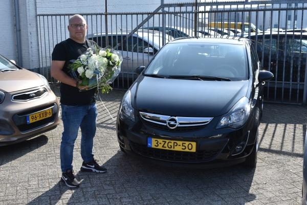 Aflevering Opel Corsa