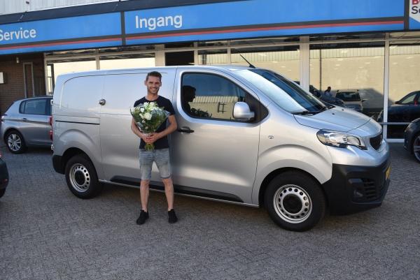 Aflevering Peugeot Expert