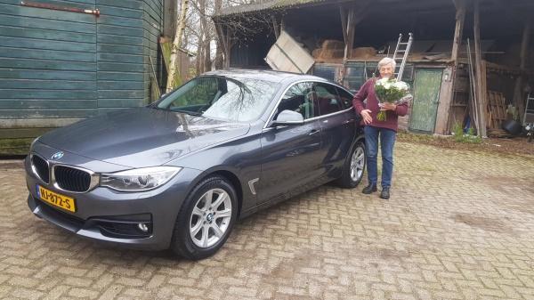 Aflevering BMW 320i GT