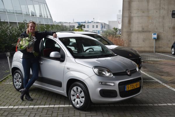 Aflevering Fiat Panda