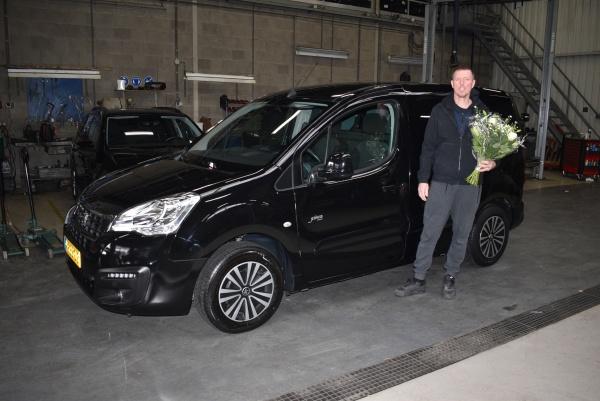 Aflevering Peugeot Partner