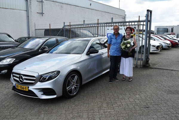 Aflevering Mercedes-Benz E200
