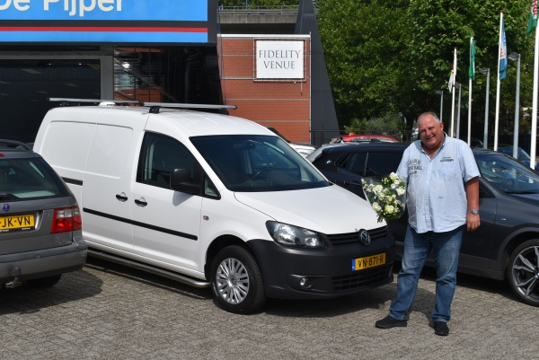 Aflevering V.W. Caddy Maxi
