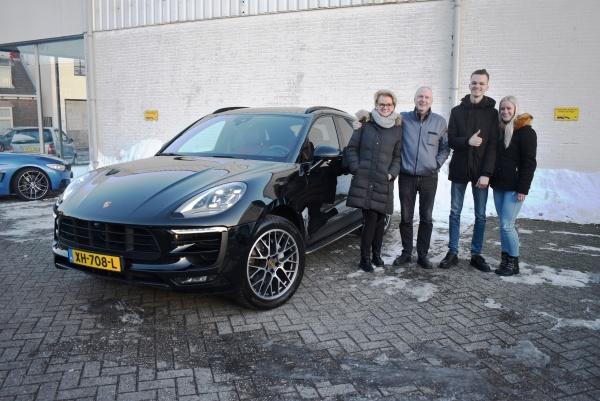 Aflevering Porsche Macan