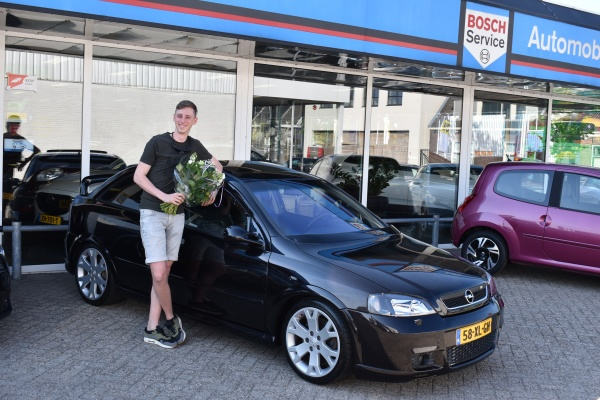 Aflevering Opel Astra OPC