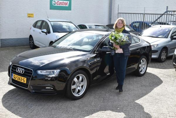 Aflevering Audi A5