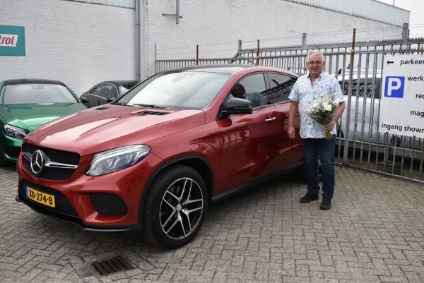 Aflevering Mercedes-Benz GLE AMG