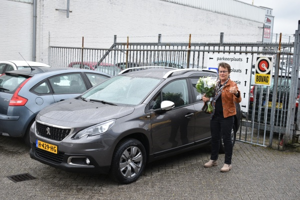 Aflevering Peugeot 2008